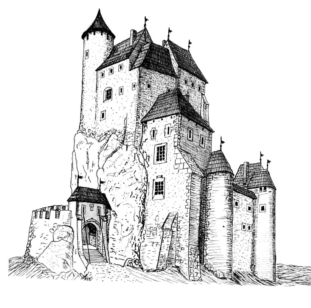 Reconstruction Of The Castle From 15th Century According To KMoskal