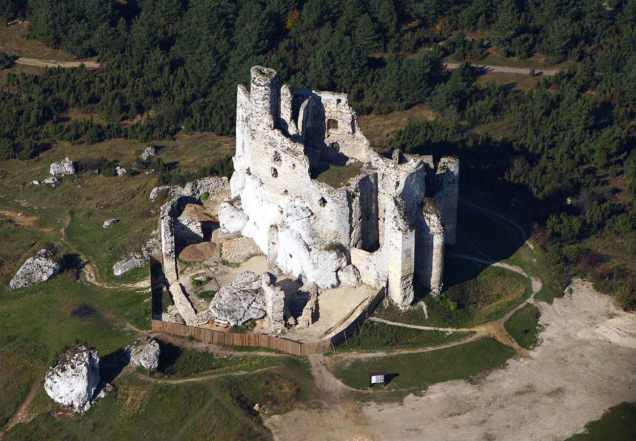 Aerial View Of The Castle Photo Wikimedia Commons