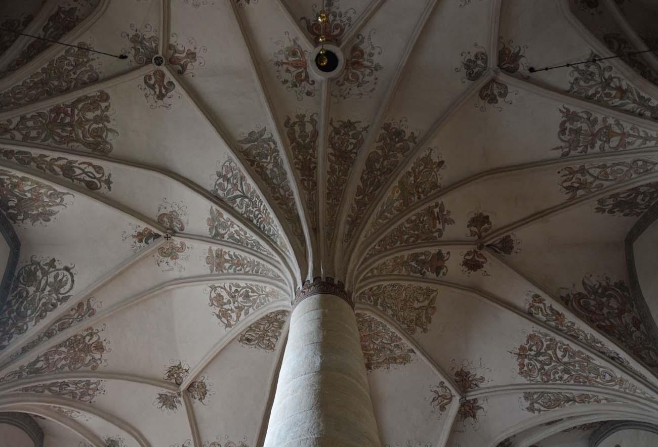 Sklepienie palmowe - Architektura średniowiecza i starożytności