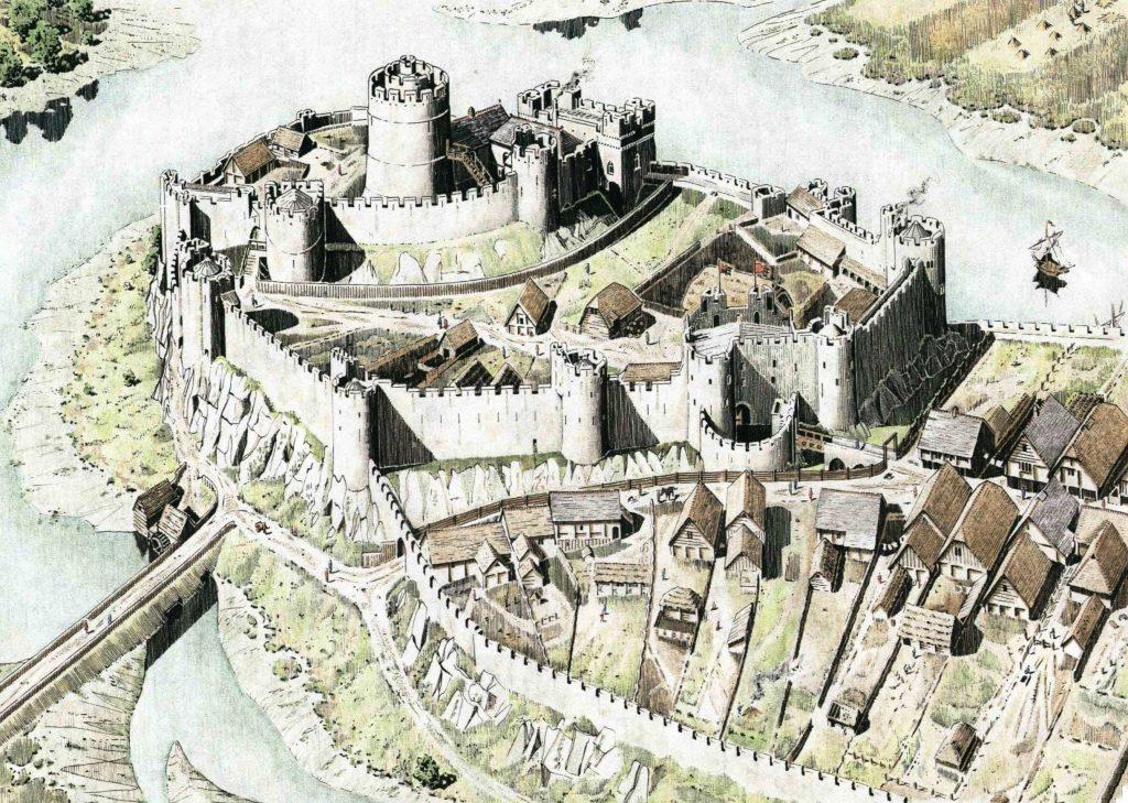 Pembroke Castle Ancient And Medieval Architecture